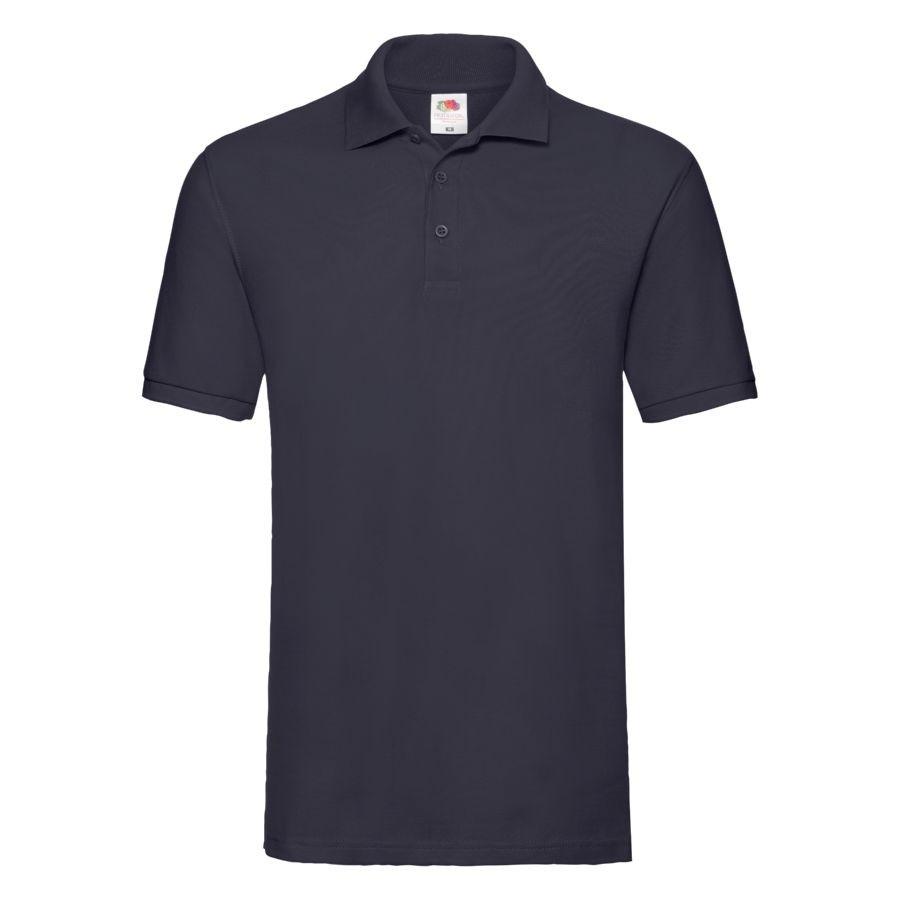 """Поло """"Premium Polo"""", глубокий темно-синий_2XL, 100% х/б, 180 г/м2"""