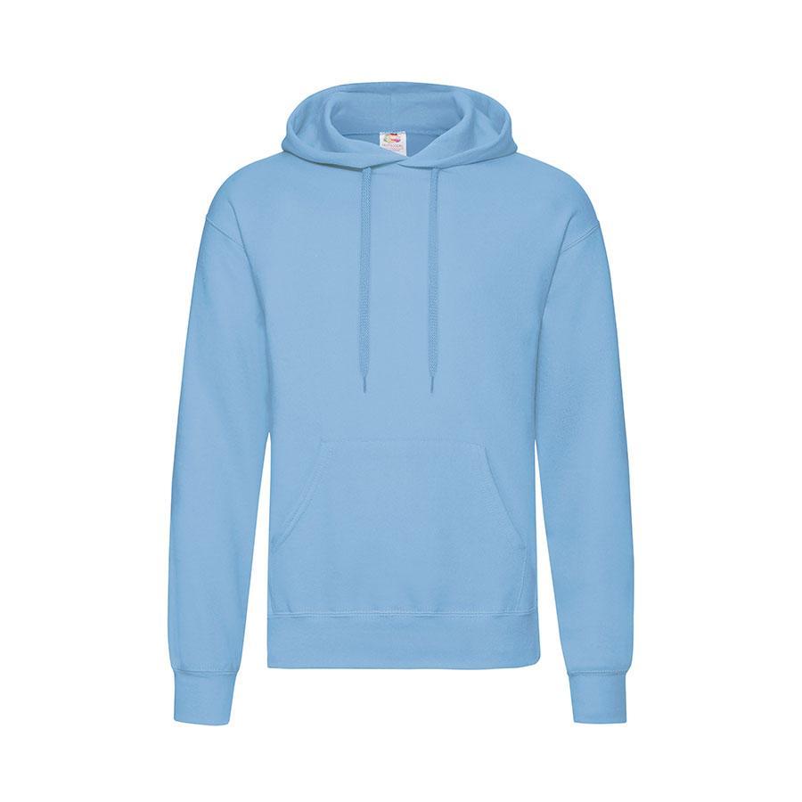 "Толстовка мужская ""Hooded Sweat"", небесно-голубой_L, 80% х/б, 20% п/э, 280 г/м2"