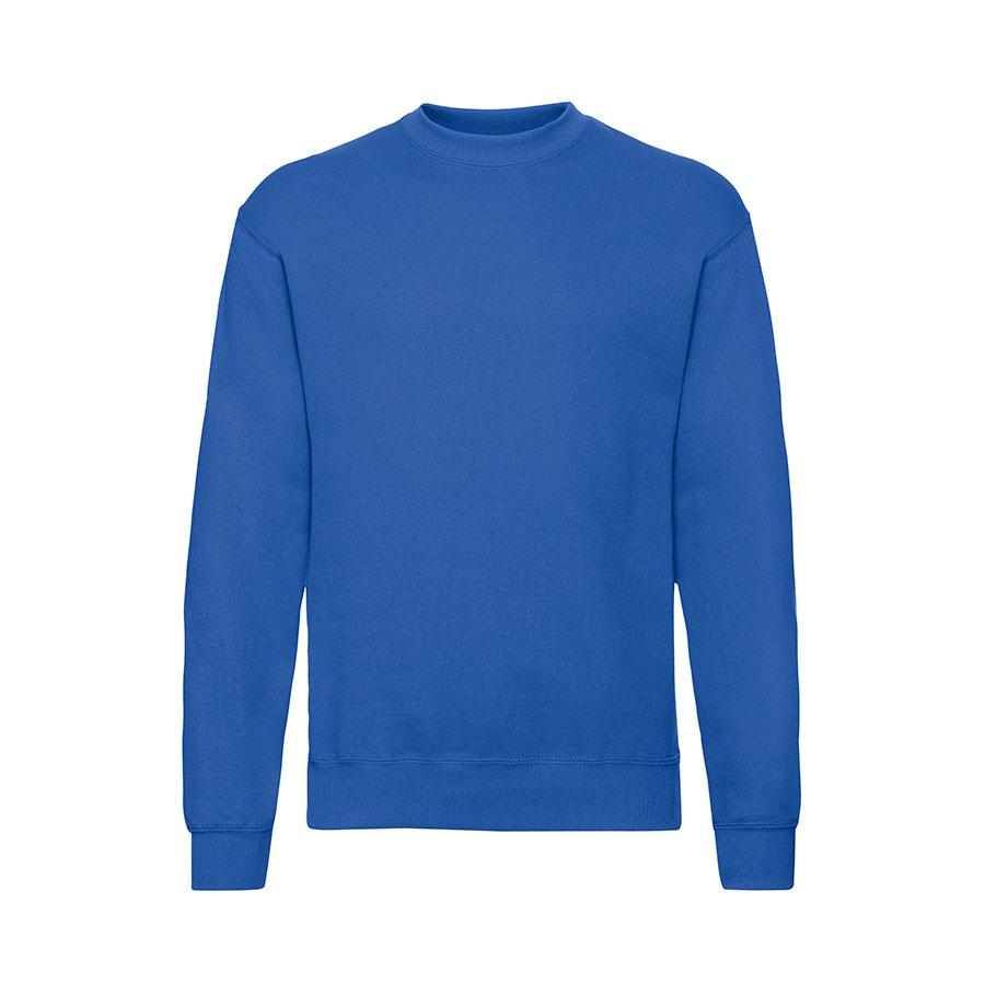 "Толстовка мужская с начесом ""SET-IN-SWEAT"", ярко-синий_2XL, 80% х/б, 20% п/э, 280 г/м2"