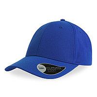 "Бейсболка ""BOLT"", 6 клиньев, застежка на липучке, ярко-синий, 100% полиэстер, 170 г/м2"