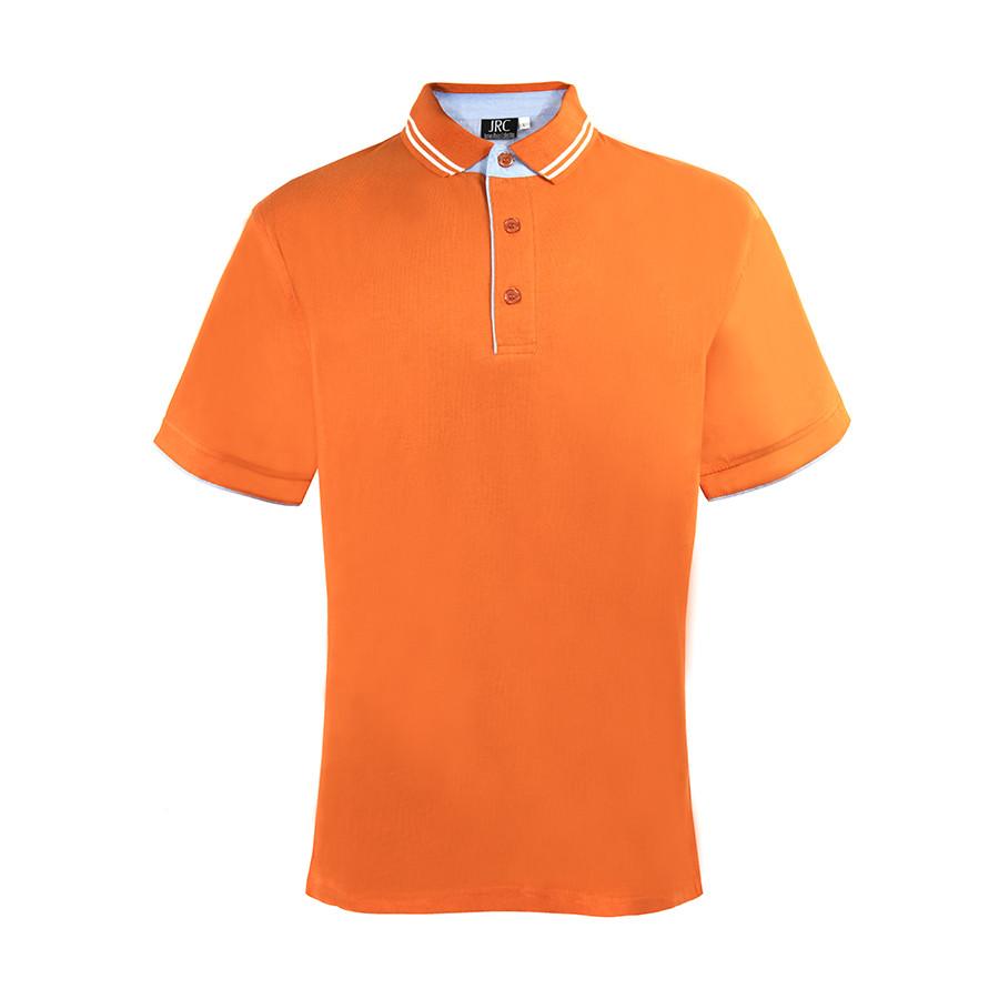 """Поло """"RODI MAN"""", оранжевый_ M, 100% х/б, 180г/м2"""