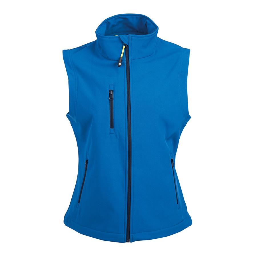 "Жилет женский ""TARVISIO LADY"", ярко-синий, XL, 95% полиэстер, 5% эластан, 320 г/м2"