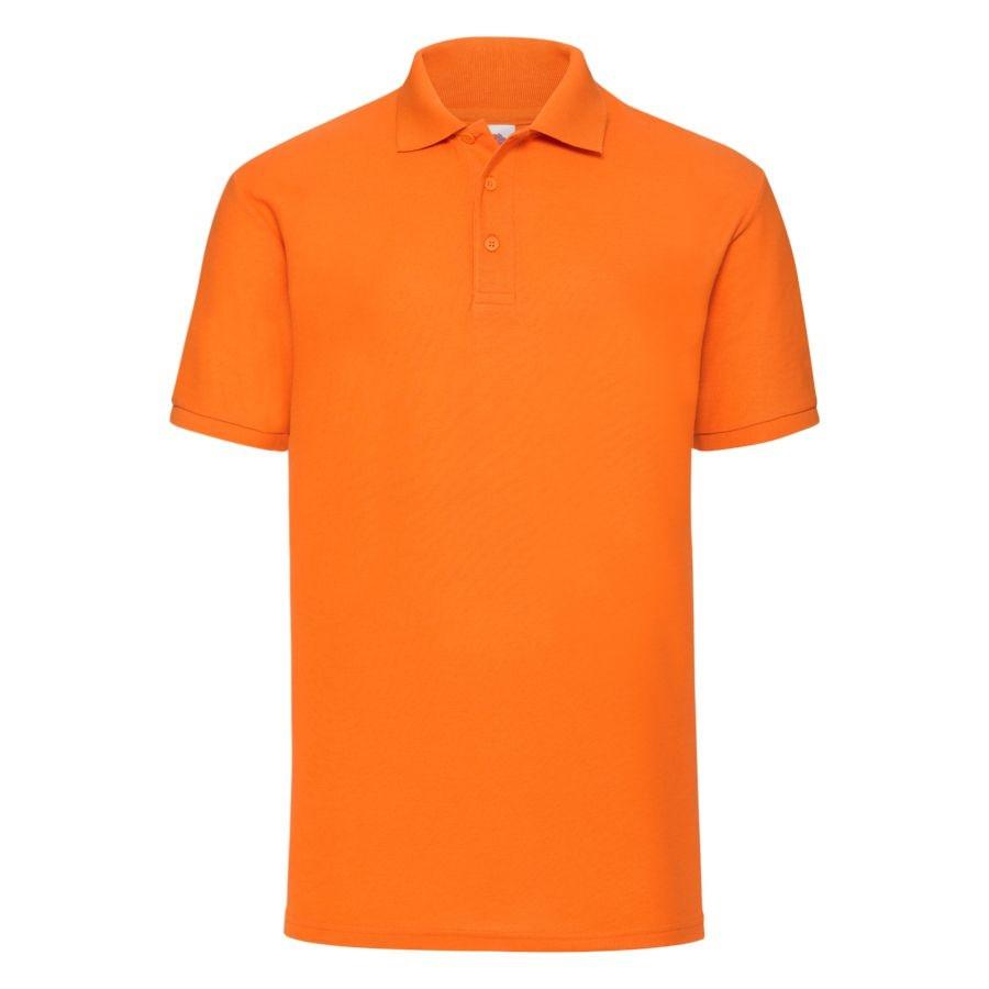 "Поло ""65/35 Polo"", оранжевый_L, 65% п/э, 35% х/б, 180 г/м2"