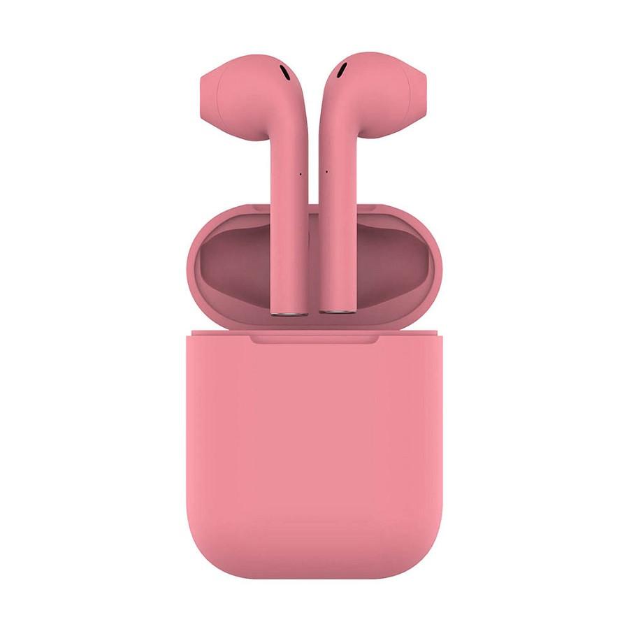 Наушники беспроводные с зарядным боксом TWS AIR SOFT, цвет розовый