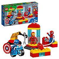 Конструктор LEGO DUPLO Super Heroes Лаборатория супергероев 10921