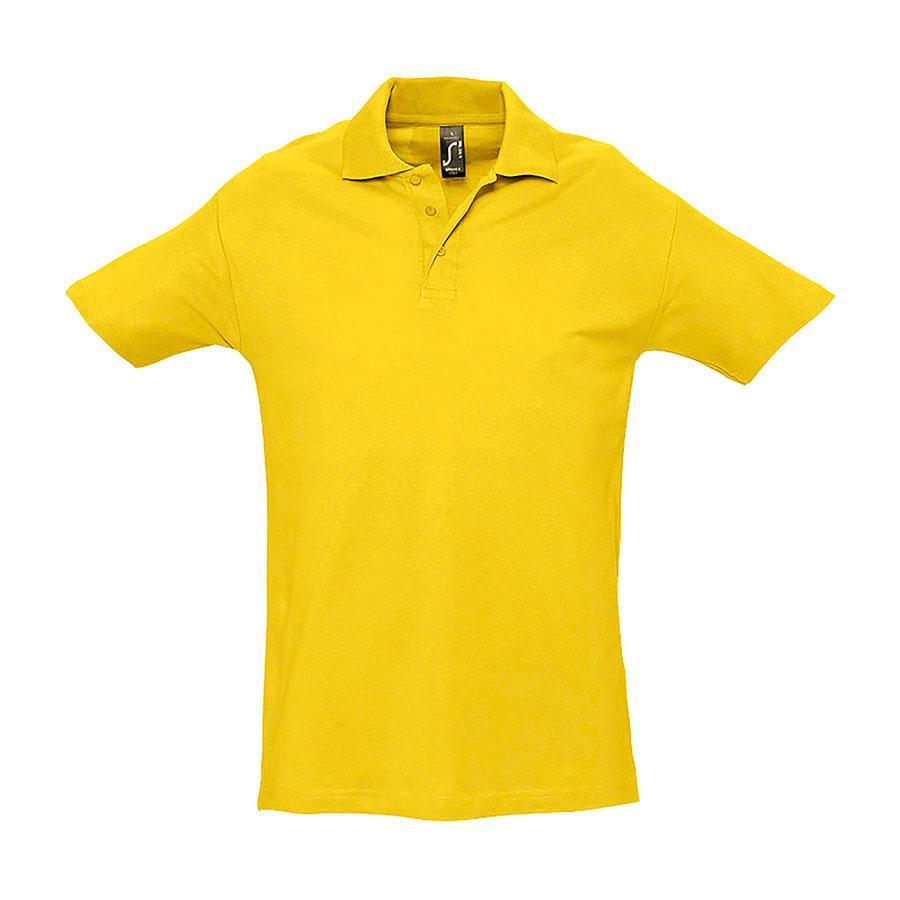 """Поло """"Spring"""", желтый_L, 100% х/б, 210г/м2"""