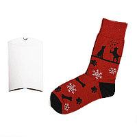 """Носки подарочные """"Счастливый год"""" в упаковке"""