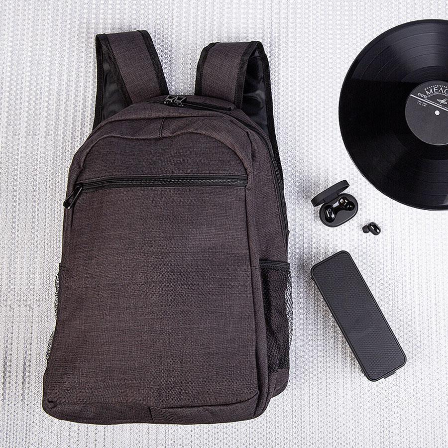 Набор подарочный HIGHTHOPES: рюкзак, наушники беспроводные, колонка портативная