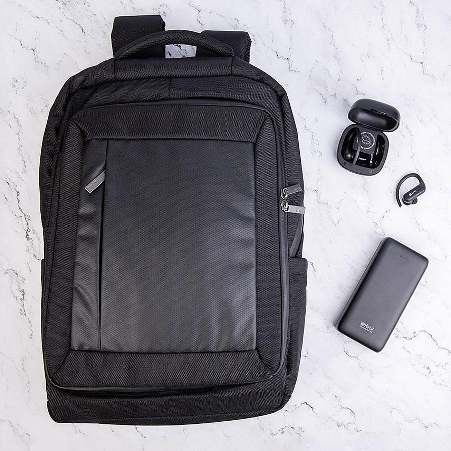 Набор подарочный BLACKANDGO: рюкзак, универсальный аккумулятор, наушники беспроводные