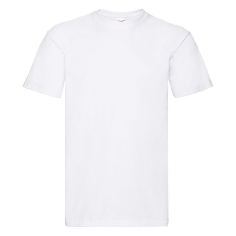 "Футболка мужская ""Super Premium T"", белый_S, 100% хлопок, 190 г/м2"
