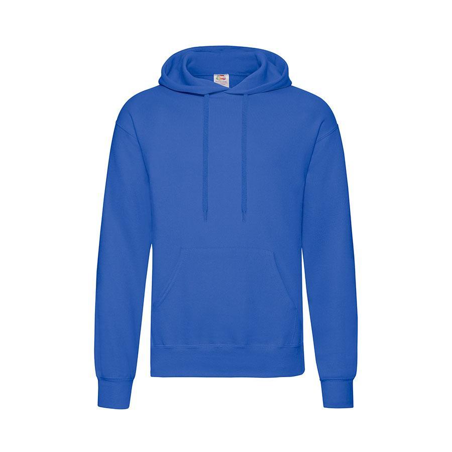 """Толстовка """"Hooded Sweat"""", ярко-синий_2XL, 80% х/б, 20% п/э, 280 г/м2"""