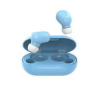 Наушники беспроводные Hiper TWS OKI, голубые