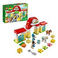 Конструктор LEGO DUPLO Town Конюшня для лошади и пони 10951