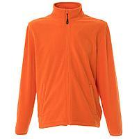 """Толстовка мужская флисовая """"COPENHAGEN"""" ,оранжевый, M, 100% полиэстер, 185 г/м2"""