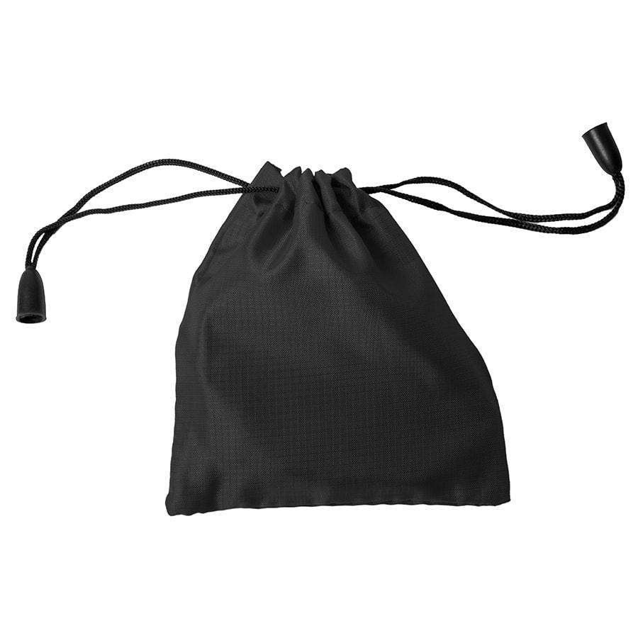 Мешочек подарочный, черный, 9,5х10см, полиэстер