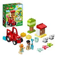 Конструктор LEGO DUPLO Town Фермерский трактор и животные 10950