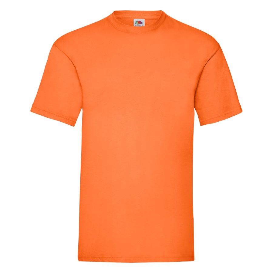 """Футболка мужская """"Valueweight T"""", оранжевый_XL, 100% х/б, 165 г/м2"""