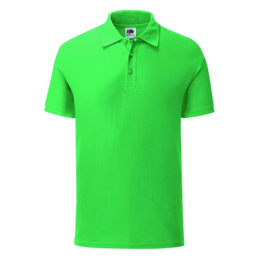 """Поло """"Iconic Polo"""", зеленый, L, 100% х/б, 180 г/м2"""