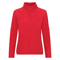 """Толстовка """"Lady-Fit Full Zip Fleece"""", красный_XL, 100% п/э, 250 г/м2"""