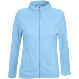 """Толстовка """"Lady-Fit Micro Jacket"""", небесно-голубой_M, 100% п/э, 250 г/м2"""