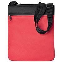 "Промо сумка на плечо ""Simple""; красный; 23х28 см; полиэстер"