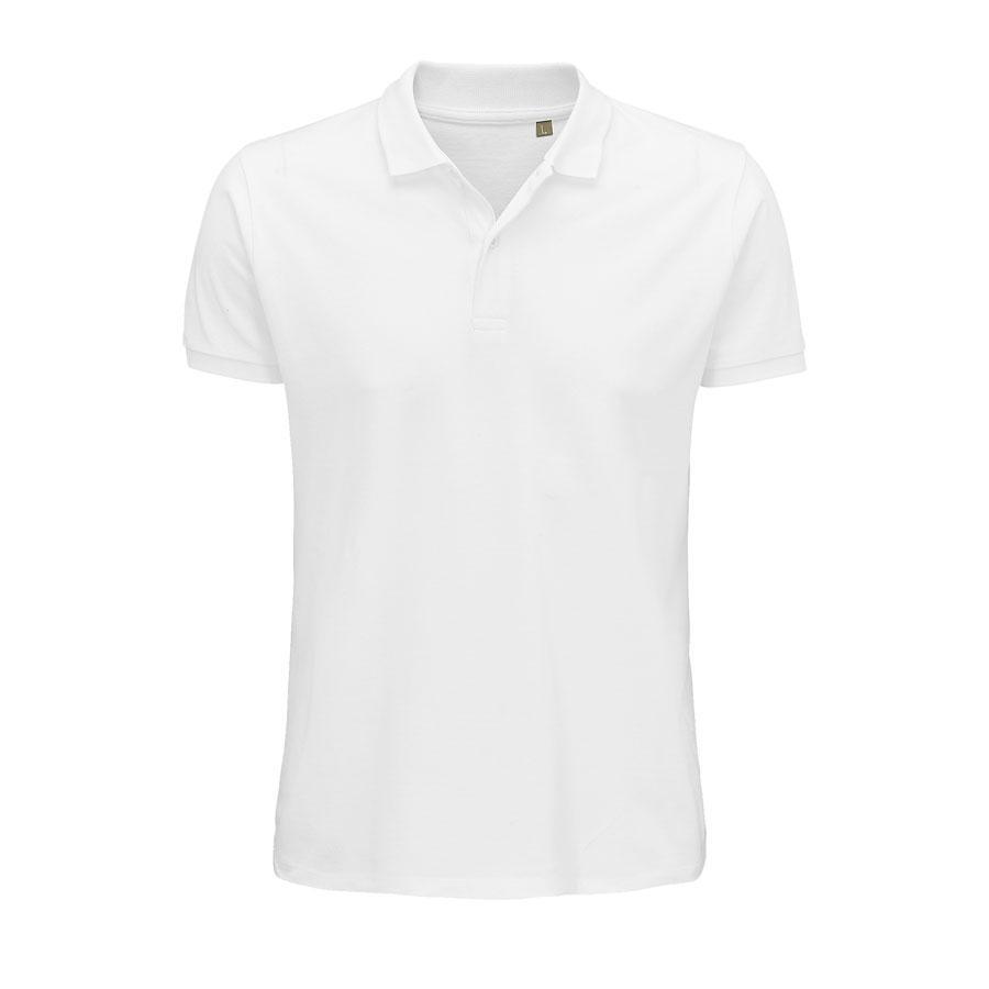 """Поло мужское """"PLANET MEN"""", белый, 5XL, 100% органический хлопок, 170 г/м2"""