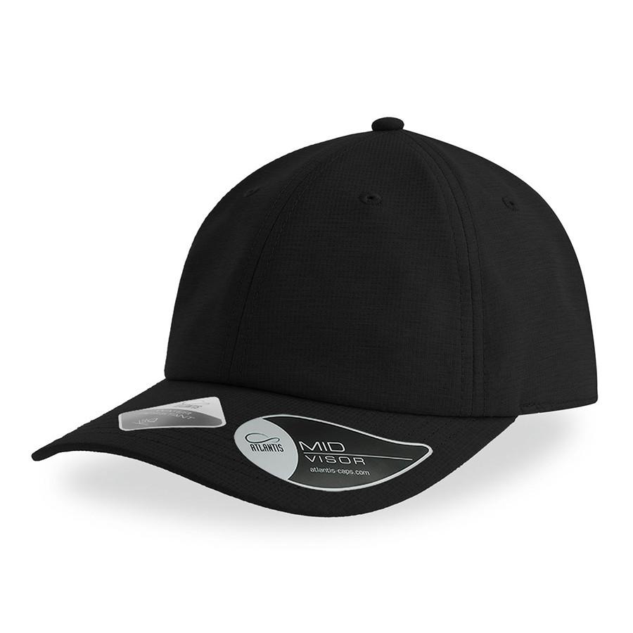 """Бейсболка """"ENERGY"""", 6 клиньев, застежка на липучке, черный, 100% полиэстер, 110 г/м2"""