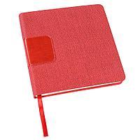 Ежедневник недатированный Scotty, А5-, красный, кремовый блок, без обреза