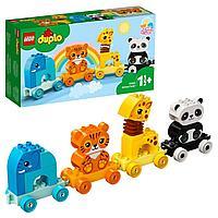 Конструктор LEGO DUPLO My First Поезд для животных 10955