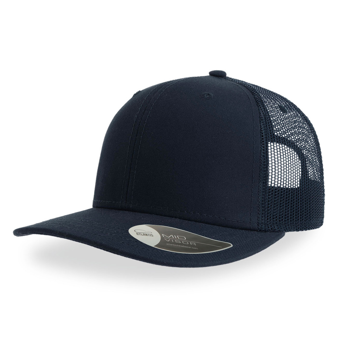 """Бейсболка """"SONIC"""", 6 клиньев, пласт. застежка, темно-синий, осн. ткань100% хлопок, 280 г/м2"""
