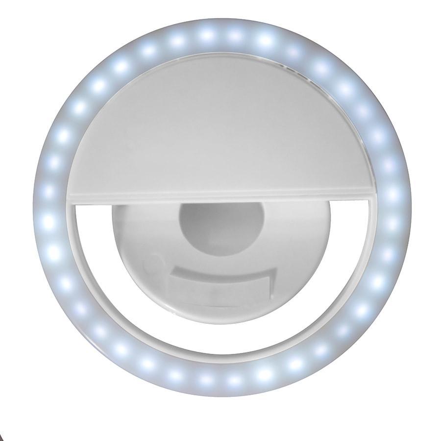 Подсветка для селфи SPOTLIGHT, 8,5х 3,3 см, белый, пластик