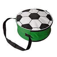 Сумка футбольная; зеленый, D36 cm; 600D полиэстер