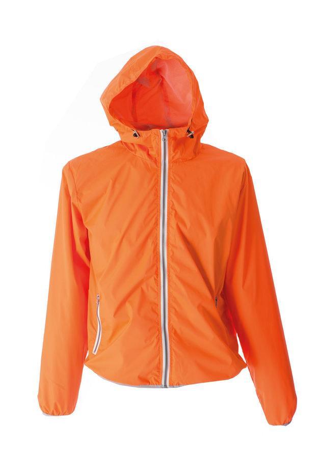 """Ветровка мужская """"Madeira Man"""", оранжевый_S, 100% п/э, 20D; подкладка: 100% п/э"""