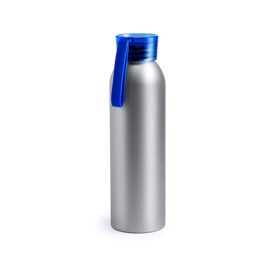 Бутылка для воды TUKEL, синий, 650 мл,  алюминий, пластик