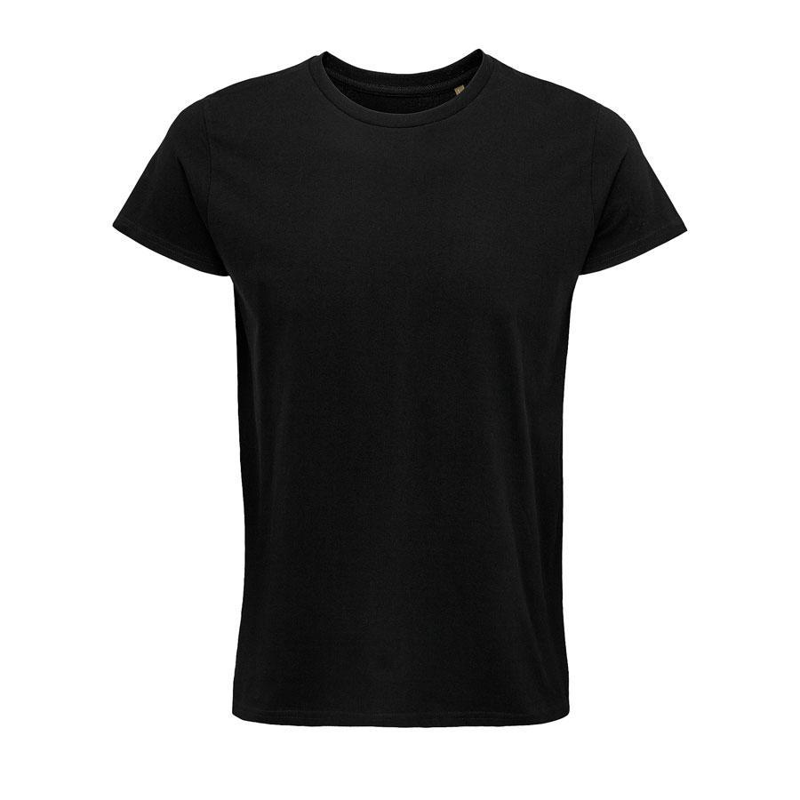 """Футболка мужская """"CRUSADER MEN"""", черный, XL, 100% органический хлопок, 150 г/м2"""