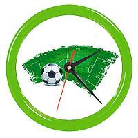 """Часы настенные """"PRINT"""" разборные ;  зеленый, D24,5 см; пластик"""