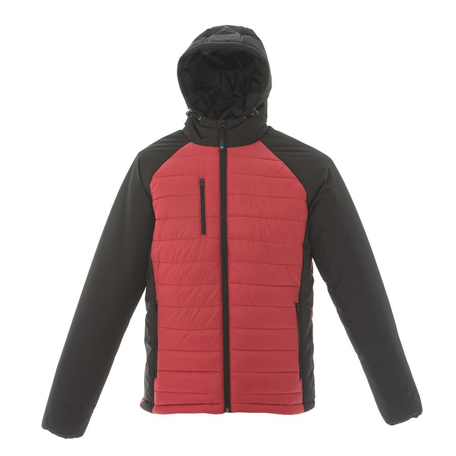 """Куртка мужская """"TIBET"""",красный/чёрный, M, 100% нейлон, 200  г/м2"""