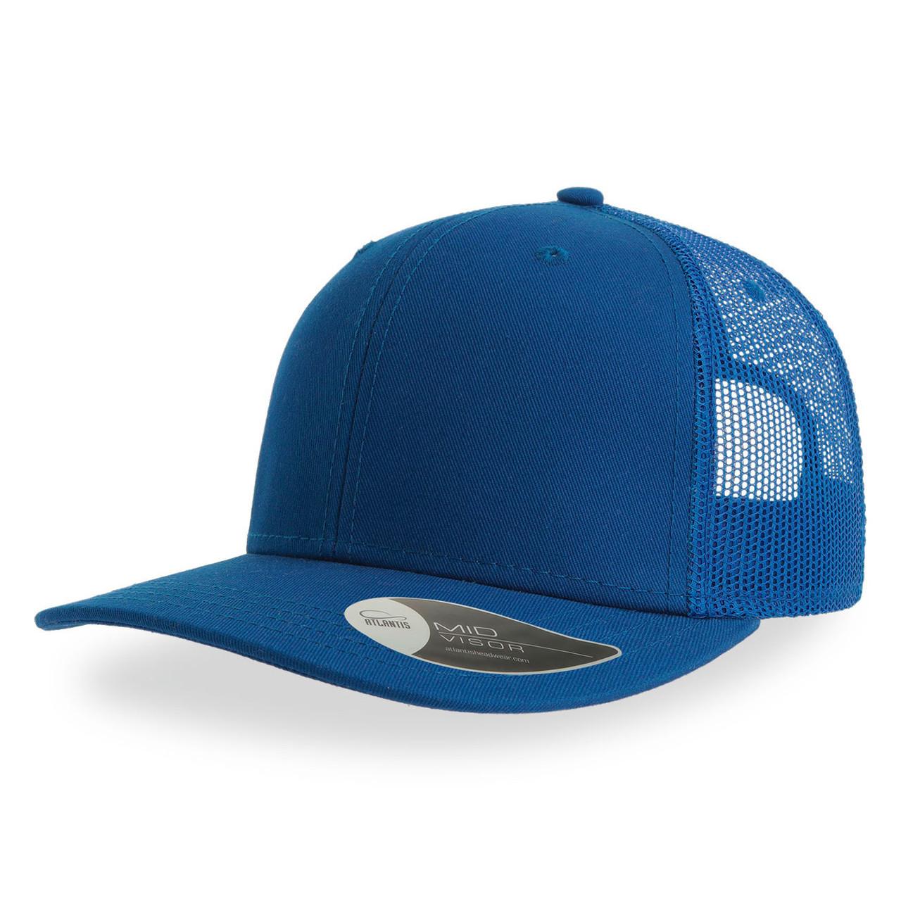 """Бейсболка """"SONIC"""", 6 клиньев, пласт. застежка, ярко-синий, осн. ткань100% хлопок, 280 г/м2"""