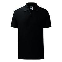 """Поло """"Iconic Polo"""", черный, L, 100% х/б, 180 г/м2, фото 1"""