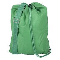 "Рюкзак ""BAGGY"", зеленый, 34х42 см, полиэстер 210 Т"