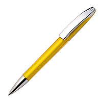 Ручка шариковая VIEW, желтый, пластик, металл