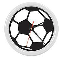 """Часы настенные """"PRINT"""" разборные ;  белый, D24,5 см; пластик"""