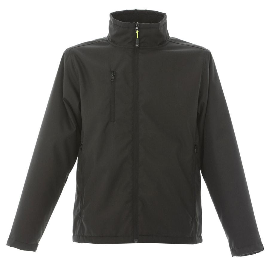 Куртка мужская Aberdeen, черный_XXL, 100% полиэстер, 220 г/м2