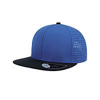 """Бейсболка """"Bank"""", ярко-синий/черный, 100% полиэстер 90 г/м2        , фото 1"""