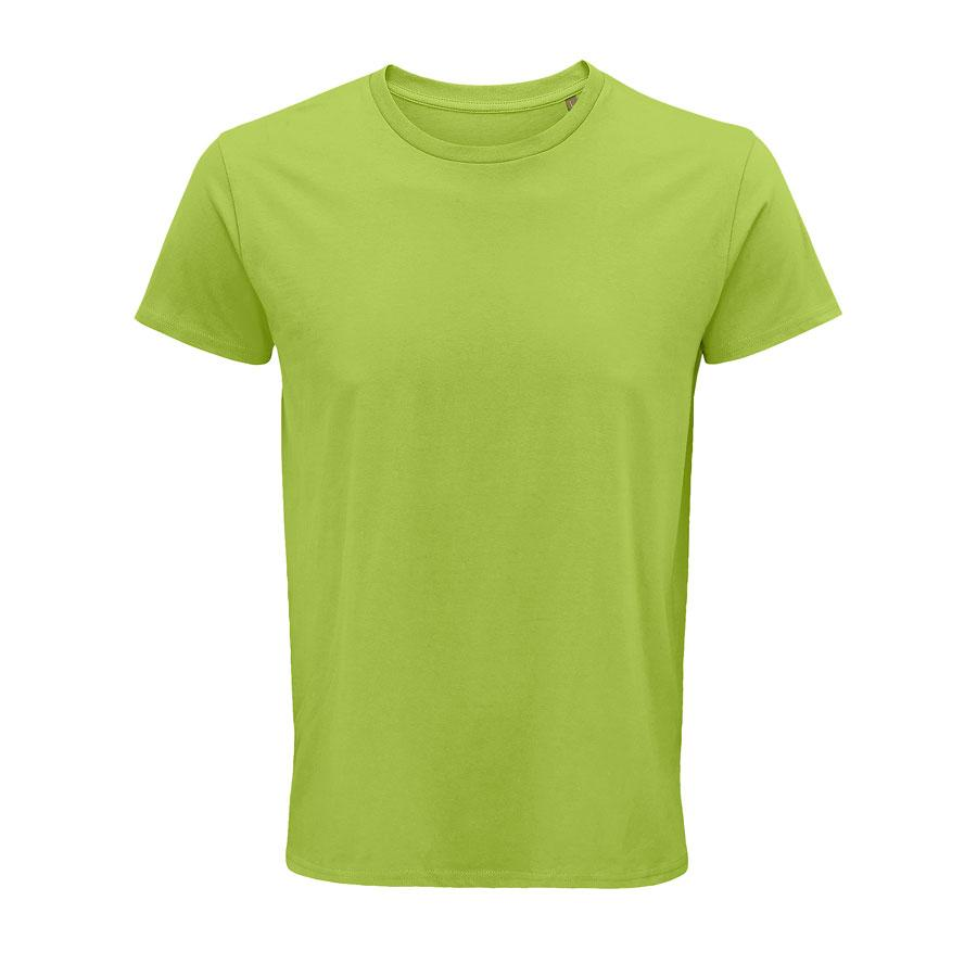 """Футболка мужская """"CRUSADER MEN"""", зеленое яблоко, M, 100% органический хлопок, 150 г/м2"""