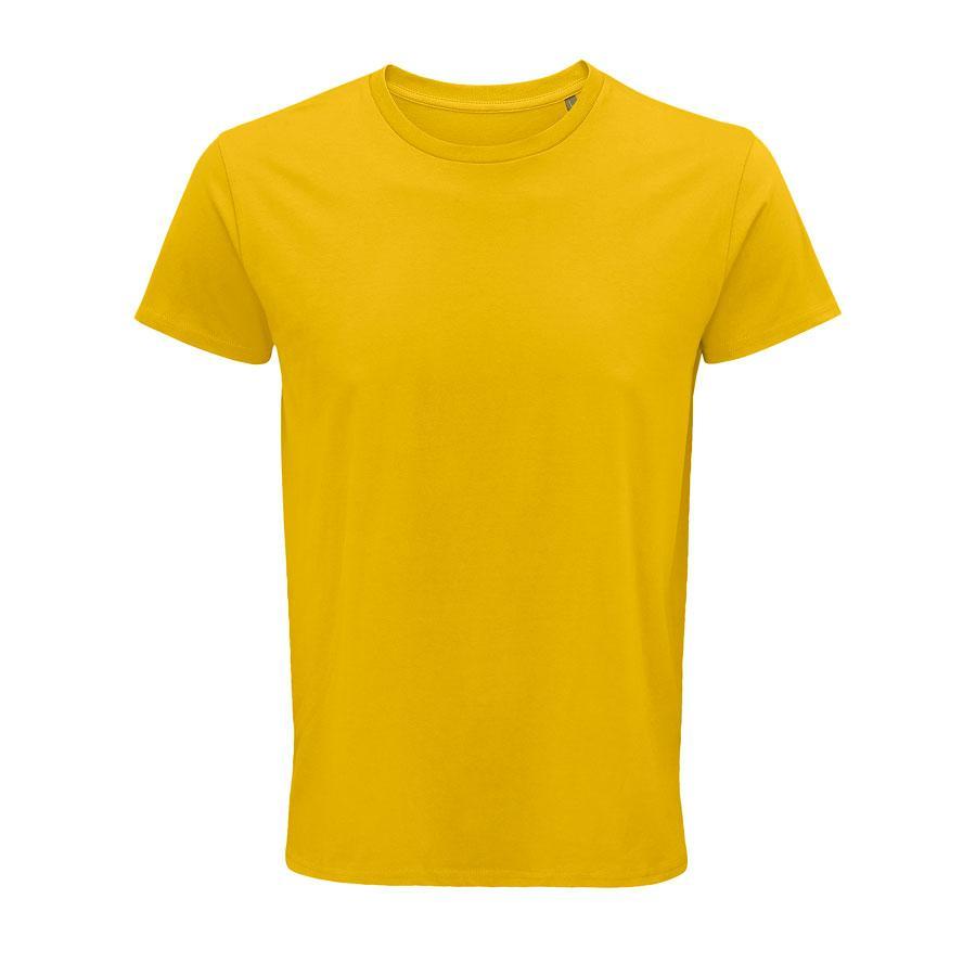 """Футболка мужская """"CRUSADER MEN"""", желтый, S, 100% органический хлопок, 150 г/м2"""