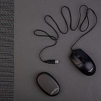 Набор подарочный GETWARM: универсальный аккумулятор, мышь компьютерная, коробка со стружкой, фото 1