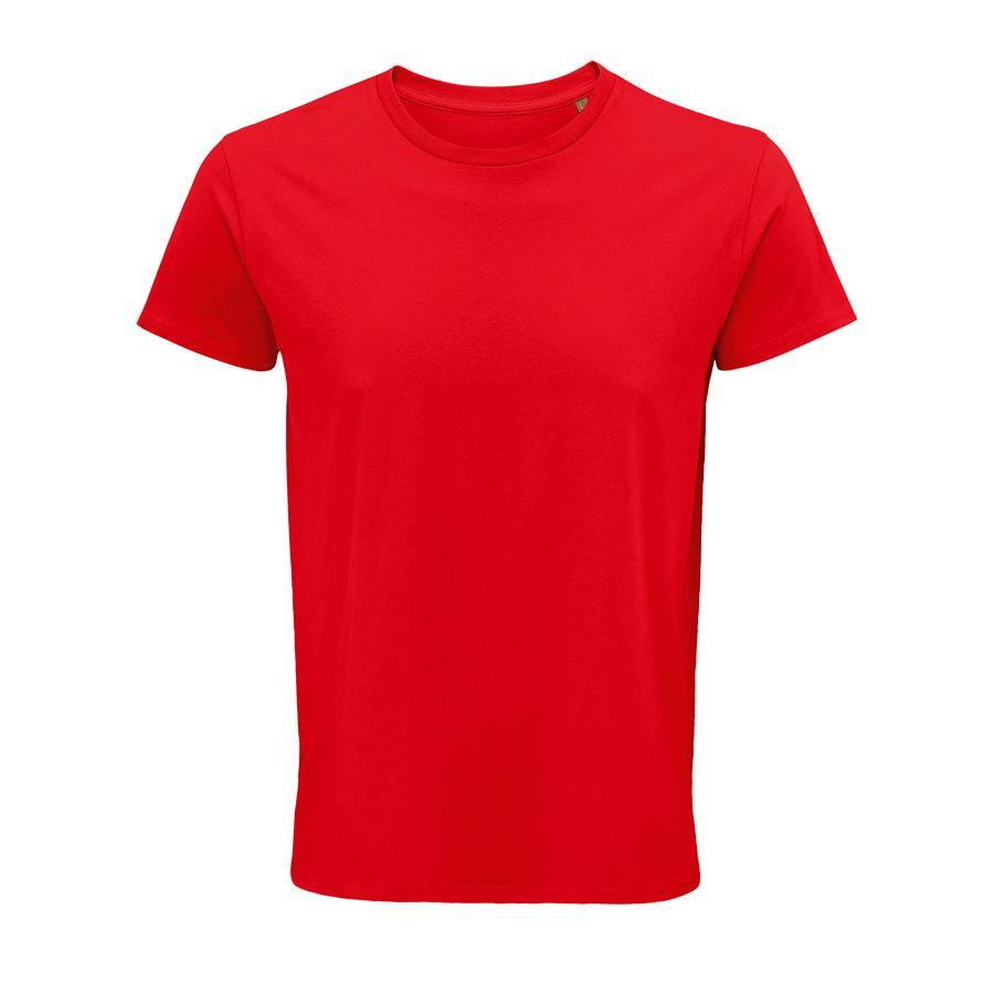 """Футболка мужская """"CRUSADER MEN"""", красный, S, 100% органический хлопок, 150 г/м2"""
