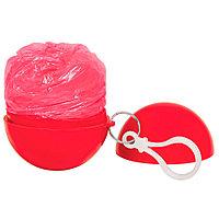 """Дождевик """"Promo""""; красный; универсальный размер, D=6,3 см; полиэтилен, пластик"""