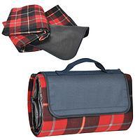 """Коврик для пикника """"Шотландка"""" ,600 D полиэстер+флис+водоотталкивающее покрытие,150*135 см"""